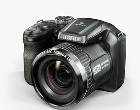Fujifilm FinePix S4800 bridge digital camera 3D asset