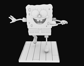 Sponge Bob separeted parts for 3D printing STL