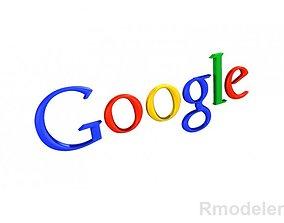 Google 3d Logo