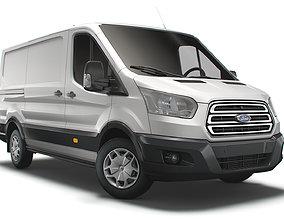 3D Ford Transit Van L2H1 2018