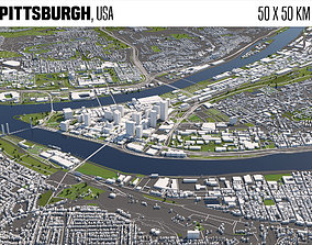 Pittsburgh 3D model