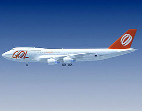 Gol Airlines 3D model