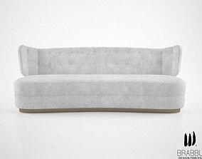 3D model Brabbu George sofa