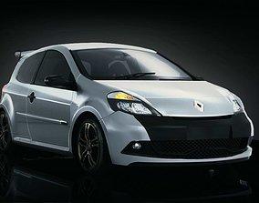 Renault Clio RS 2009 3D asset