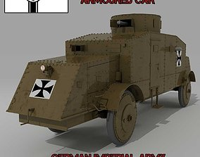 3D BUSSING A5P GERMAN ARMOURED CAR
