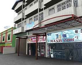 Store Shop Trade Building 3D asset