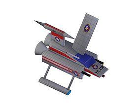 3D model Y-wing Fighter