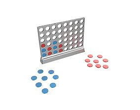 3D printable model Connect 4 game
