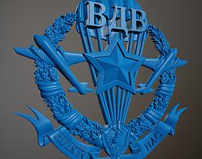 3D print model Emblem - Airborne Forces