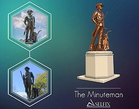 Minuteman Sculpture ready to 3D printing