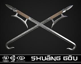 3D asset Shuang Gou