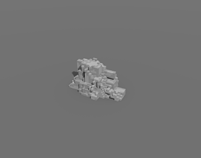 Voxel - Type2 Stone - Low-poly 3D Model realtime