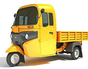 Mini Cargo Pick Up Rickshaw Maxima 3D model