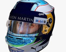 Ricciardo helmet 2018 3D model