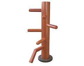 3D model Wooden Dummy v1 001