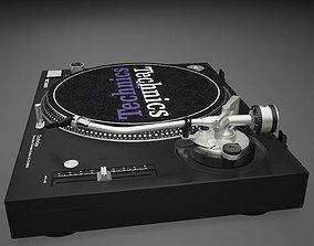 3D model Detailed Technics DJ