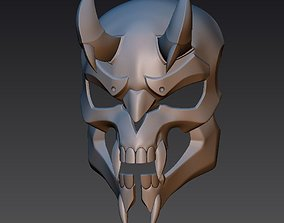 3D printable model Reaper Hellfire mask from OverWatch