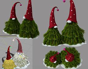 winter christmas decor 3D model