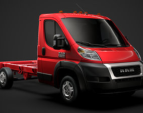 3D Ram Promaster Chassis Truck Single Cab 3450 WB 2020