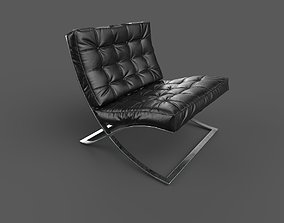 3D model PBR Barcelona Chair