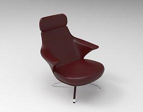 house 3D model Ticon armchair 001