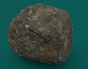 3D asset Mossy Rock 2 PBR