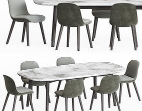 furniture 3D model Dining Set 13