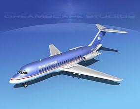 Douglas DC-9-15 Midwest Express 3D