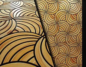 Wood panel 3d Art Deco 2