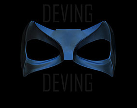 Black Canary Mask--CW arrow season 6 3D printable model