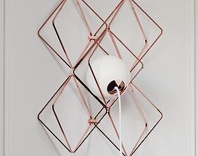 3D model Jack OLantern Small Wall Frame Set by Brokis