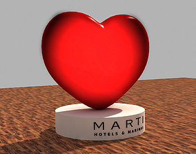 Valentines Day Heart 3D Model