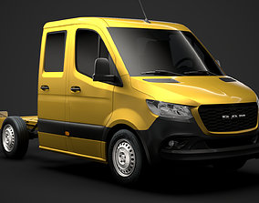 RAM Sprinter Chassis Crew Cab L1 FWD 2020 3D