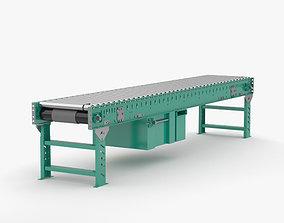 3D model Roller Conveyor equipment