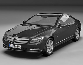 3D model 2011 Mercedes Benz CL Class