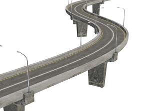 flyover Road outdoors 3D model