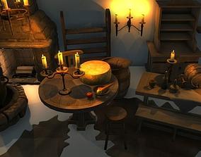 Medieval Interior Asset Pack 3D model