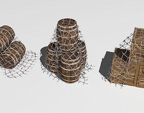 3D model fish net