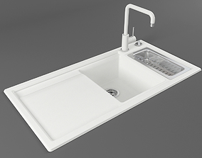 Kitchen sink 08 3D model