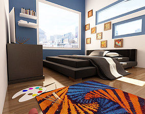 son bed room 3D