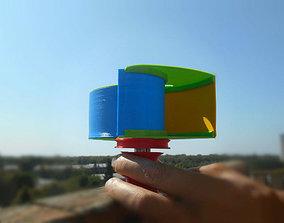 Ugrinsky wind turbine 3D printable model