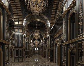3D model Classic Interior Scene 316