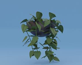 plants 3D asset low-poly
