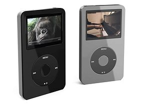 Video mp3 player 06 AM78 3D model