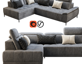 Wersal Calvaro L Sofa 3D furniture