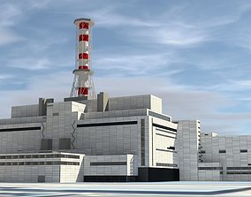 3D model Chernobil Nuclear Power Plant