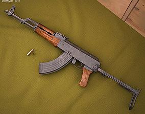 AKMS Weapon 3D model