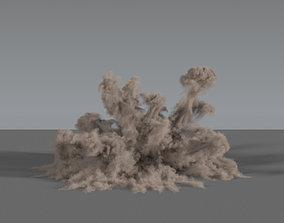 3D Dust Explosion 02 - VDB