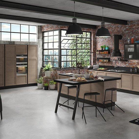 Industrial kitchen-01