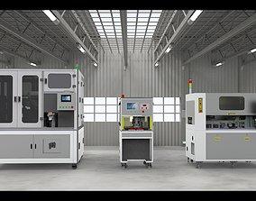 Laminating machine Assembly 3D model